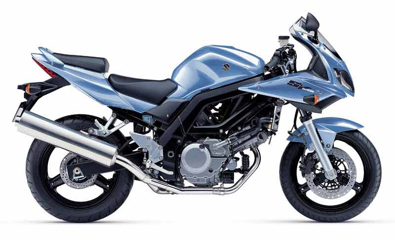 Can you ride a Suzuki SV650 with an A2 licence?