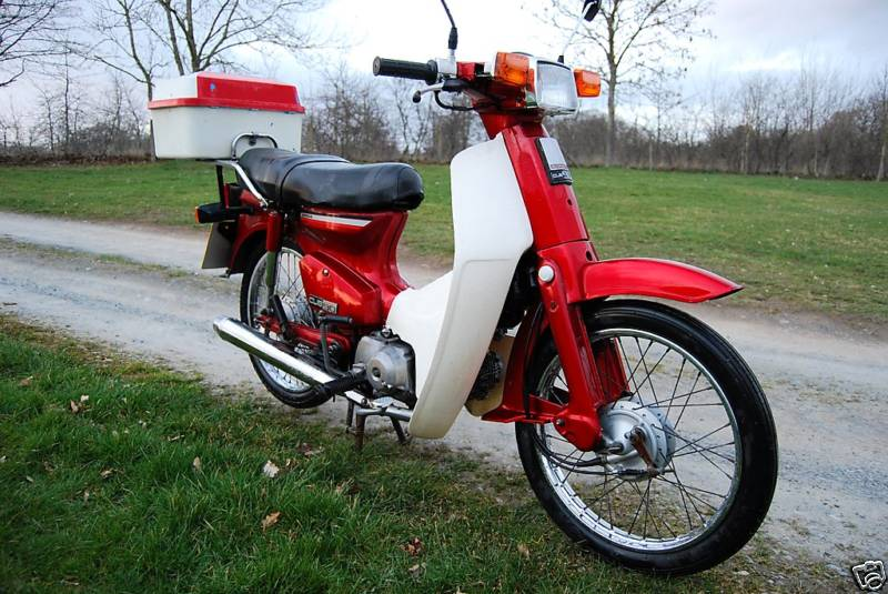 can you ride a honda c90 with an a2 licence?