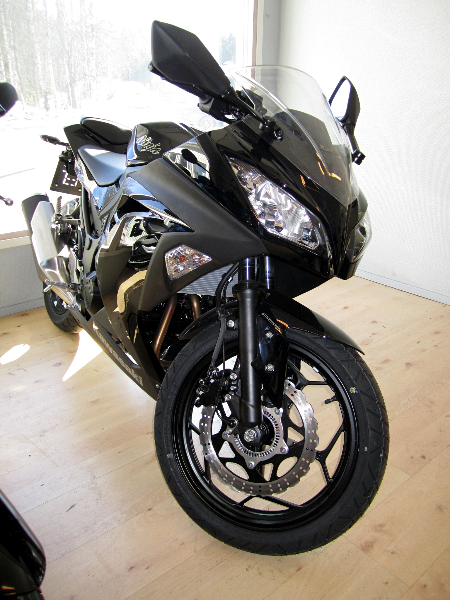 Can you ride a Kawasaki Ninja 300 with an A2 licence?