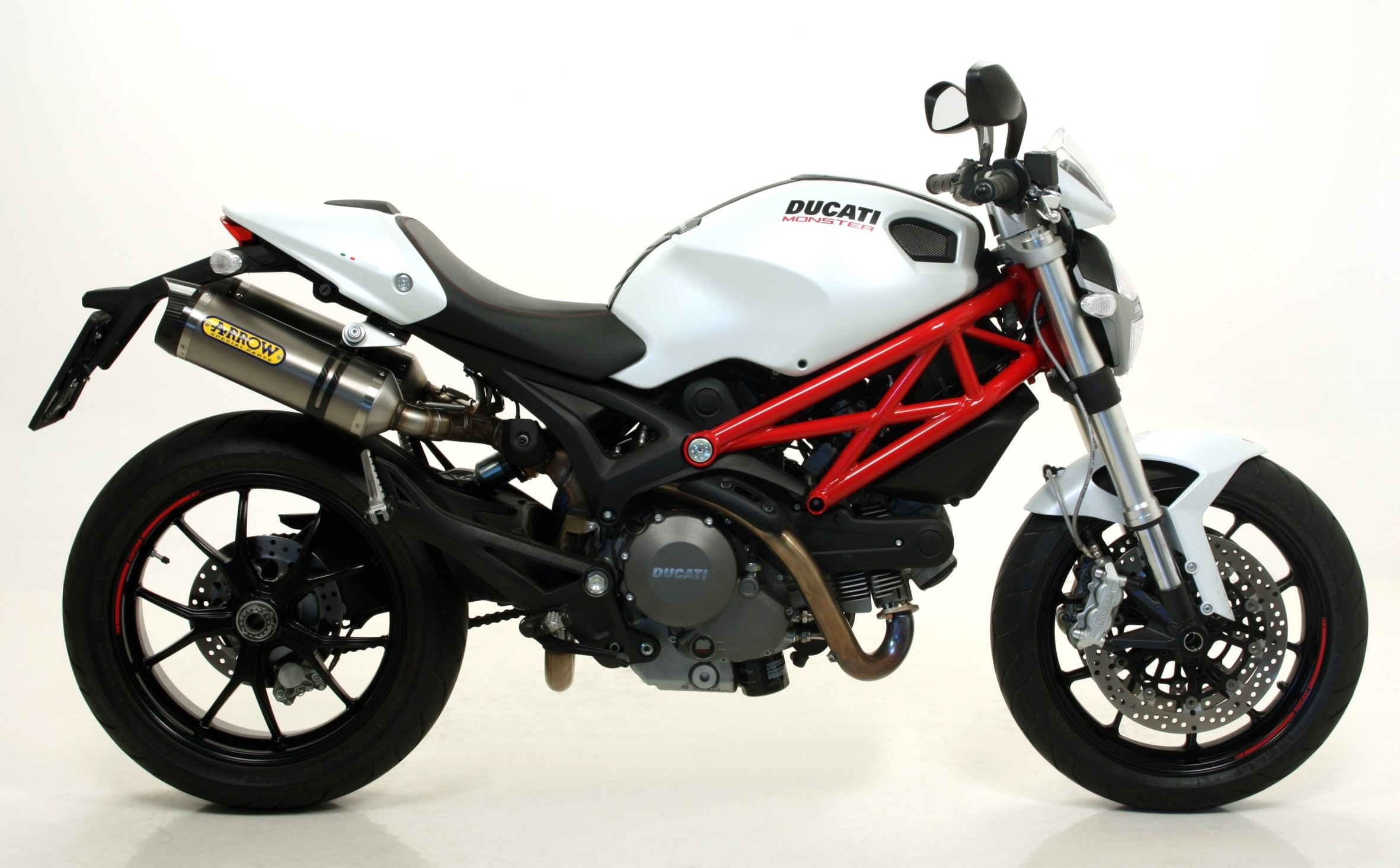 Ducati Monster  Tank Size