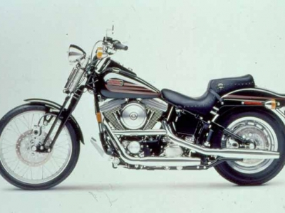 Harley Davidson FXSTB Bad Boy photo