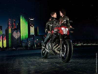 Kawasaki ER-6n photo