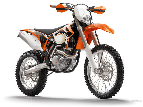 Can you ride a KTM 450 EXC with an A2 licence?