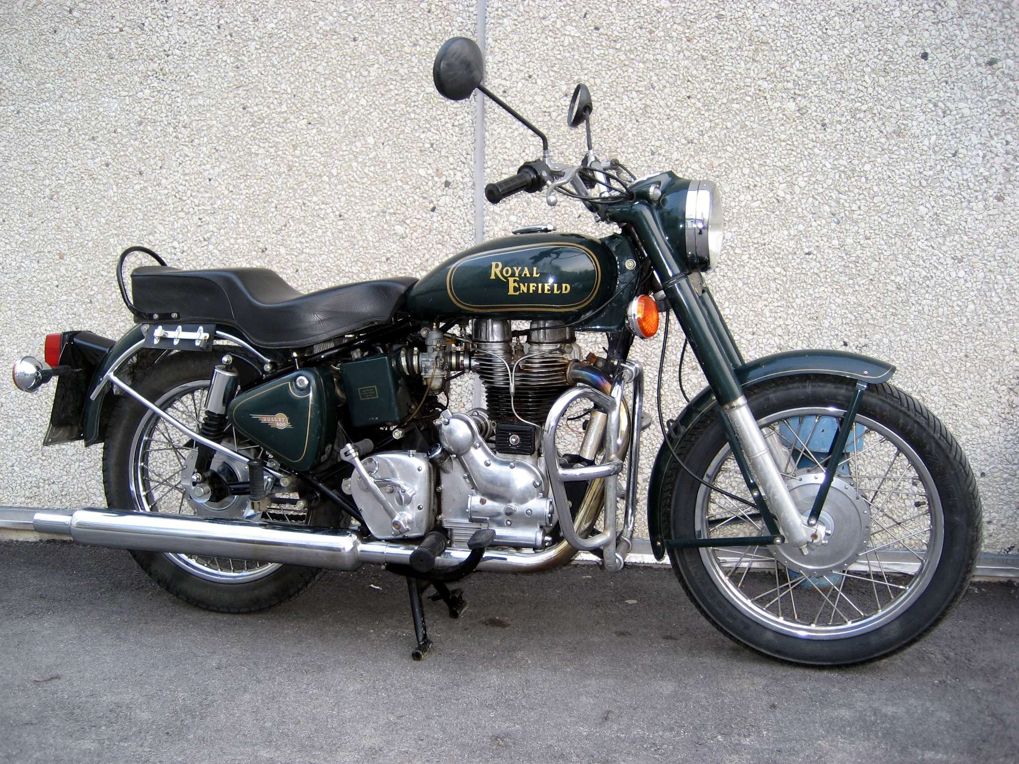 Can you ride a Enfield Bullet 500 with an A2 licence?
